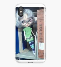 Librarian Doll iPhone Case/Skin