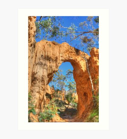 The Golden Arch of Hill End Art Print