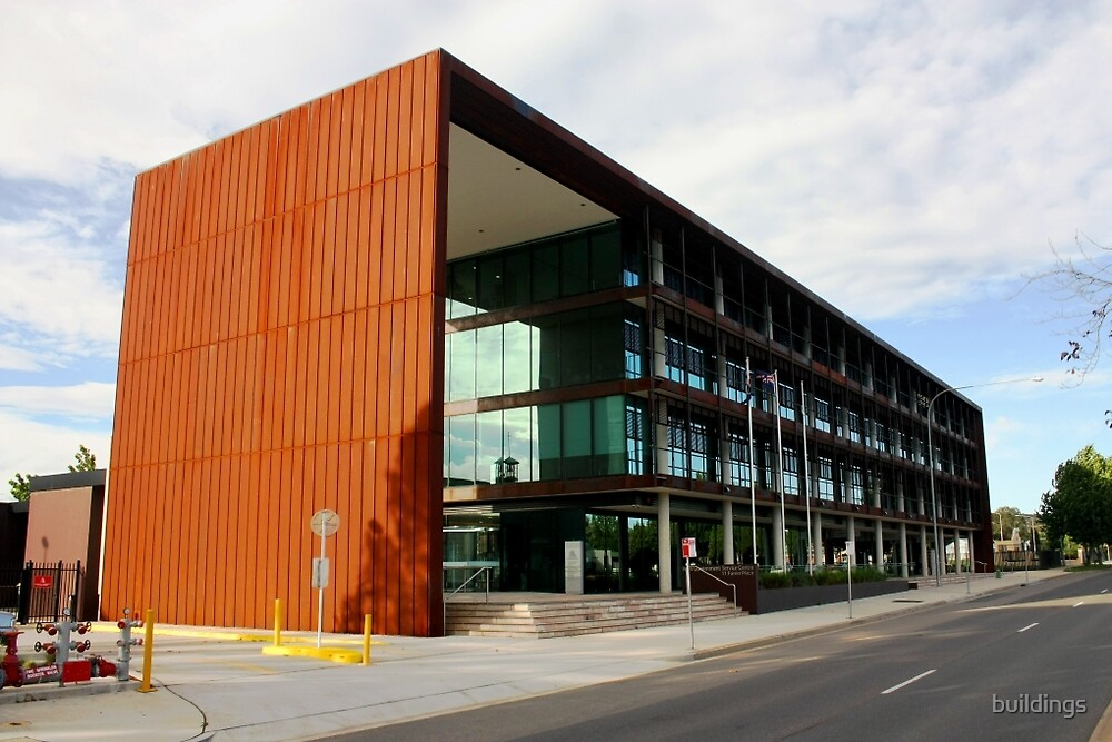 NSW Government Service Centre by buildings