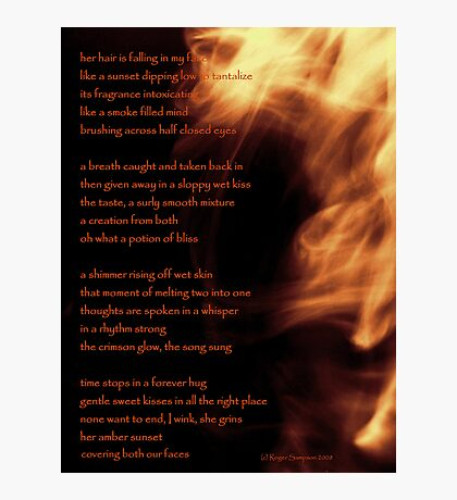 Spoken in a Whisper Photographic Print