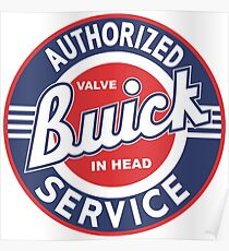 Buick Authorized Service Poster