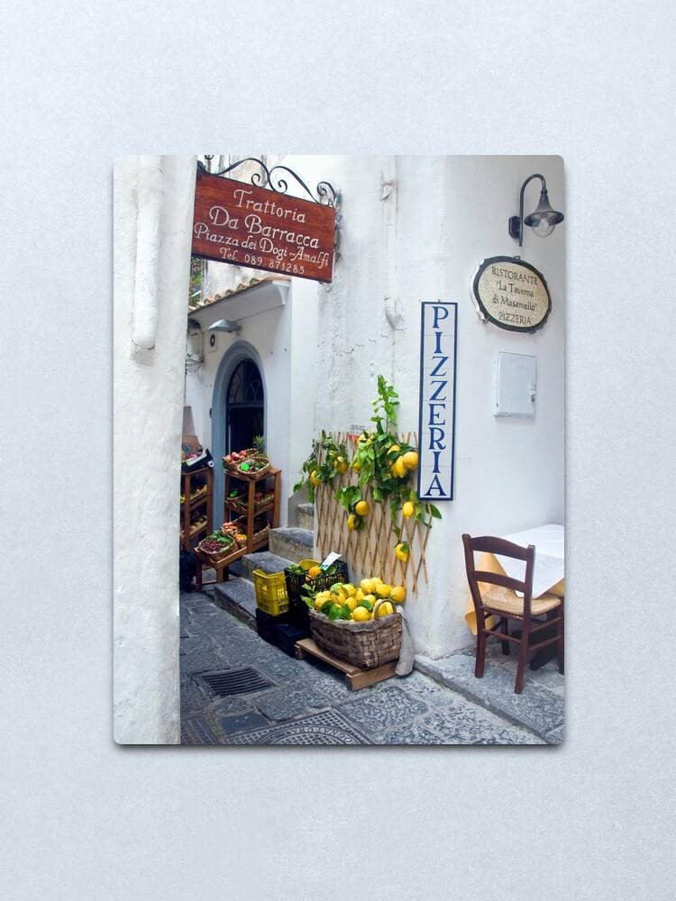 Alternate view of Amalfi, Italy Metal Print