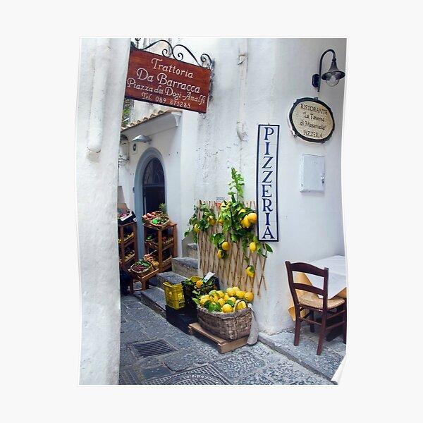Amalfi, Italy Poster