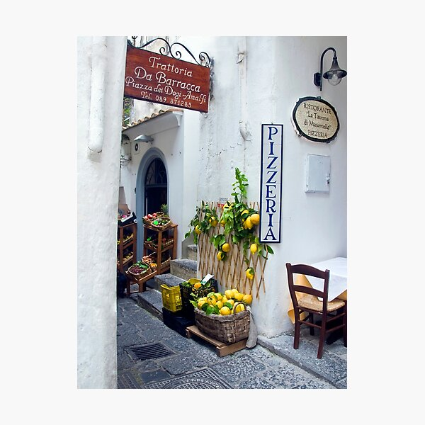 Amalfi, Italy Photographic Print
