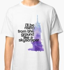 like a skyscraper watercolor Classic T-Shirt