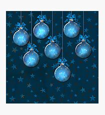 Blue Ornaments #1 Photographic Print