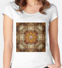 Sacred Elegance Women's Fitted Scoop T-Shirt