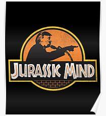 Trump Jurassic MInd Poster