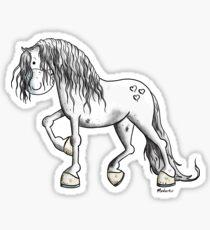 Beautiful Spanish Horse - PRE - Horses - Gift Sticker