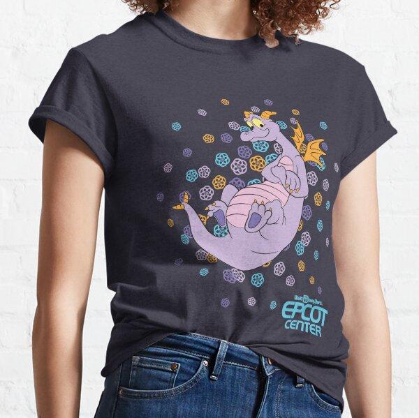 EPCOT CENTER Confetti Figment Classic T-Shirt