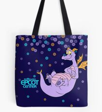 EPCOT CENTER Confetti Figment Tote Bag