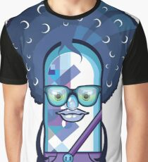 Color Character Graphic T-Shirt