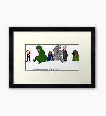 Where the Who Things Are Framed Print