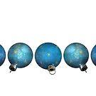 Blue Ornaments #3 by LaRoach