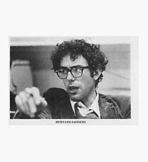 Junge Bernie Sanders Fotodruck