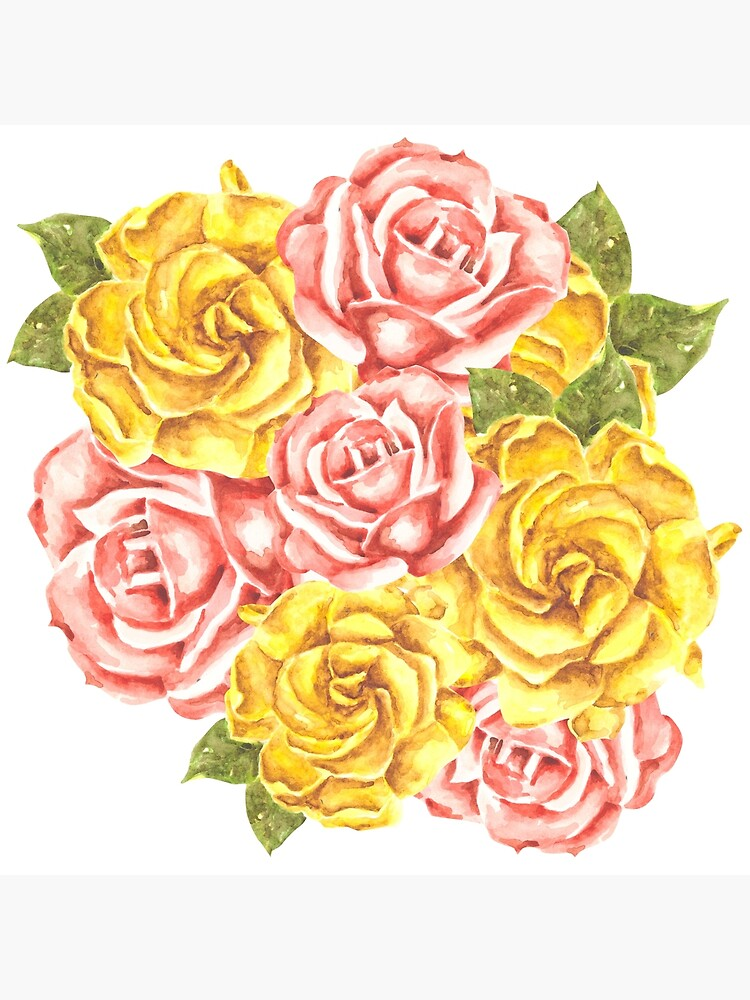 Pretty Watercolor Flowers by erika-lancaster