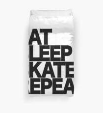 EAT SLEEP SKATE REPEAT  Duvet Cover