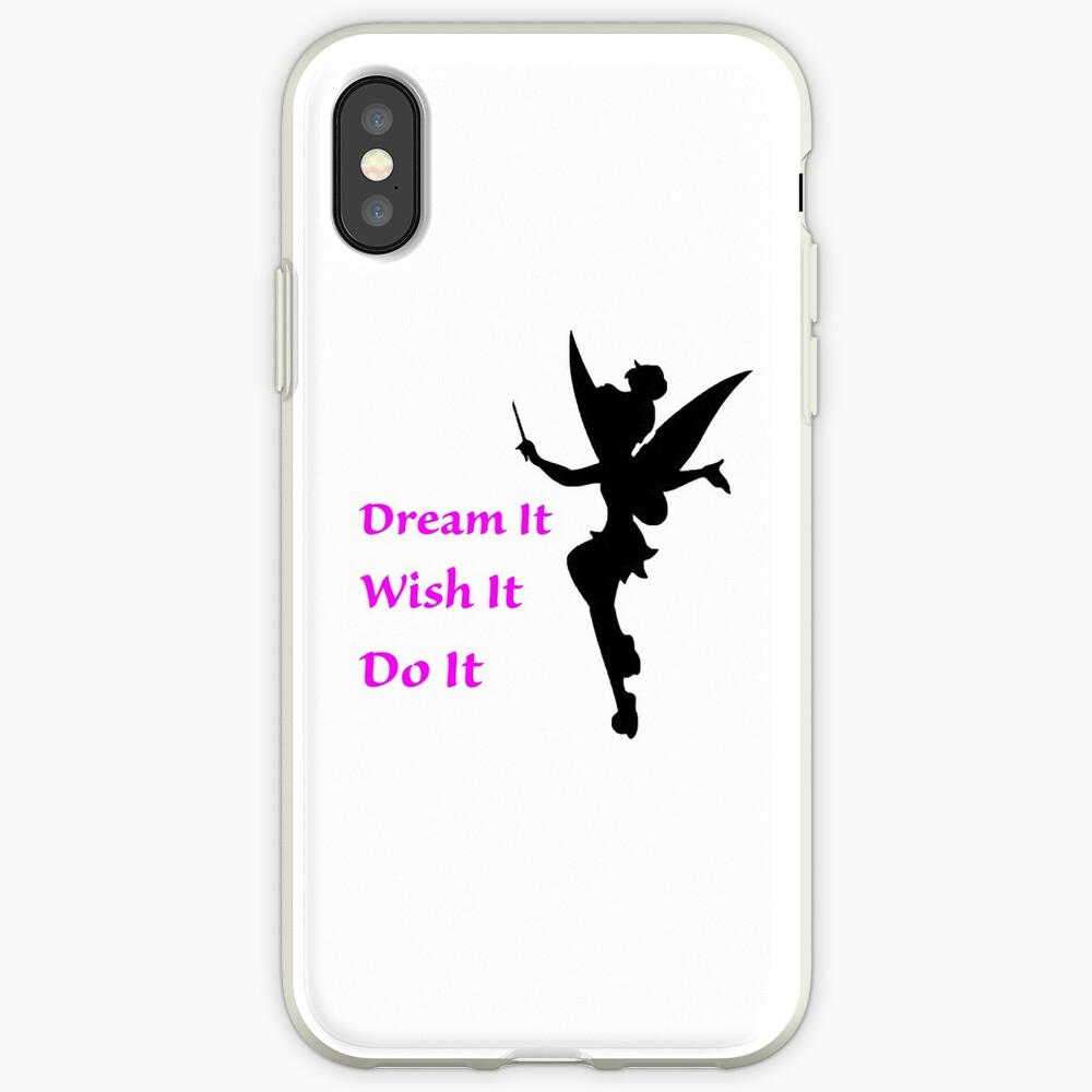 Dream, Wish, Do, Tinkerbell iPhone Cases & Covers