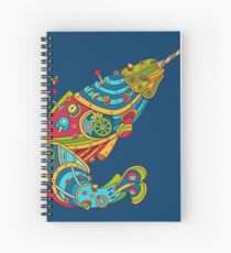 Narwhal, cool art from the AlphaPod Collection Spiral Notebook