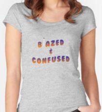 BLAZED Women's Fitted Scoop T-Shirt
