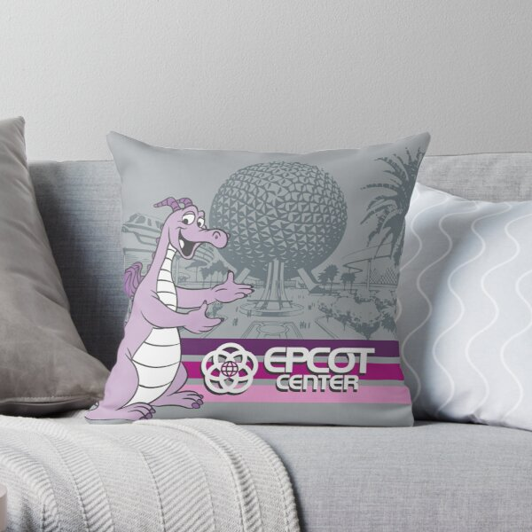 Welcome to EPCOT Center Throw Pillow