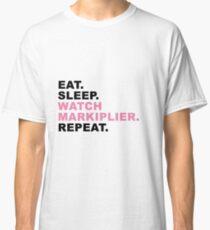 MARKIPLIER - EAT SLEEP REPEAT Classic T-Shirt