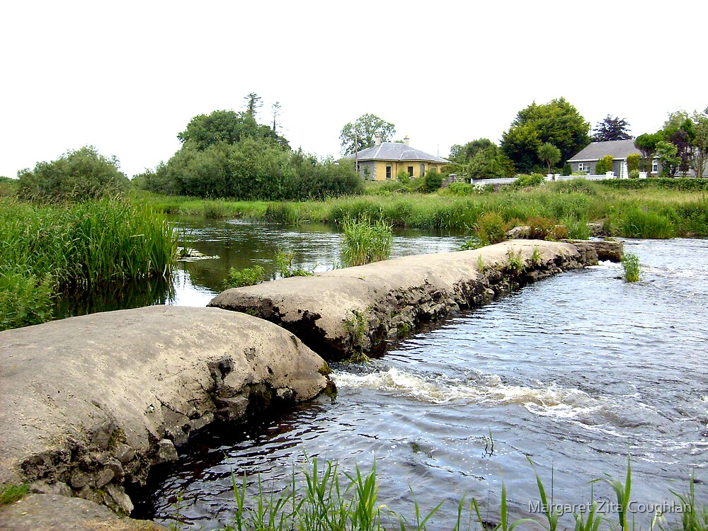 The Suir, Holycross, Co. Tipperary, Ireland by Margaret Zita Coughlan