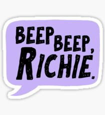 Beep beep, Richie / IT Sticker