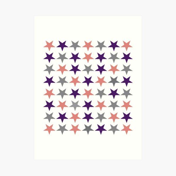 Stars Art Deco Art Print