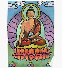 Shakyamuni Thanka Poster