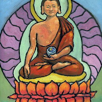 Shakyamuni Thanka by sketchydude