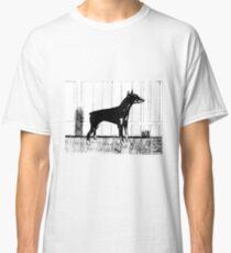 Doberman Pinscher Dog Sketch Classic T-Shirt