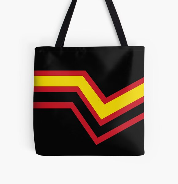 Rubber Pride Flag All Over Print Tote Bag