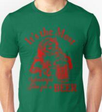 Santa Beer T-Shirt