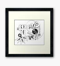 God Save The QVeen - Vivienne Icons  Framed Print