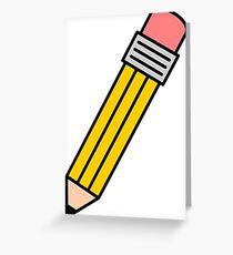 Pencil Greeting Card