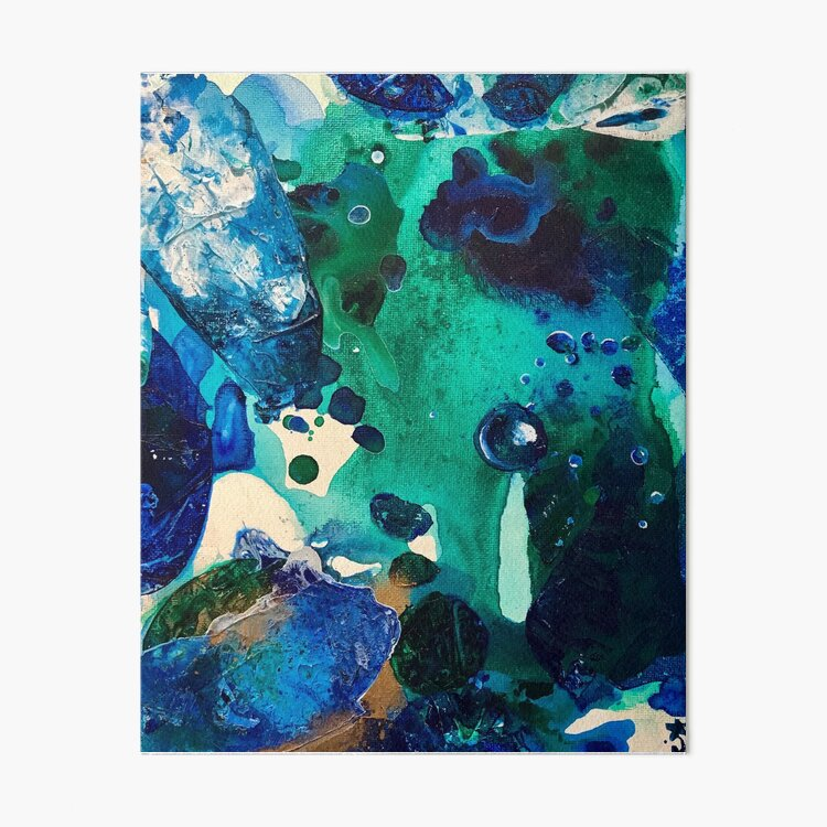 The Wonders of the World, Tiny World Collection Art Board Print