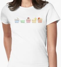 Who ate my cupcake ? Women's Fitted T-Shirt