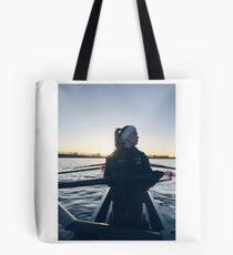 Chilly Morning  Tote Bag