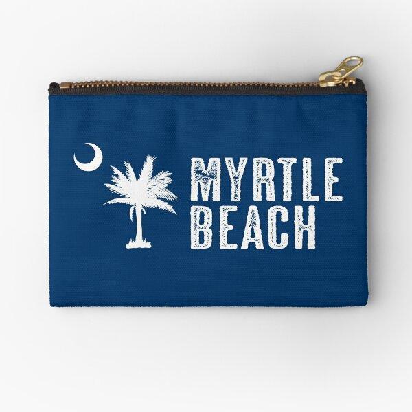 Myrtle Beach South Carolina Palm Zipper Pouch