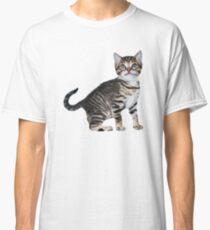 Tony Stark Kitten V-Neck Classic T-Shirt