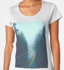 Winding Road Women's Premium T-Shirt