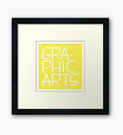 Graphic Arts Framed Print