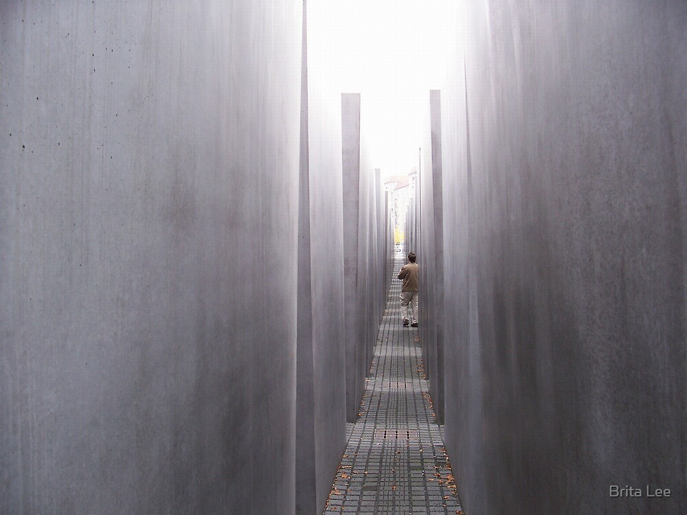Memorial to the Holocaust Victims, Berlin by Brita Lee