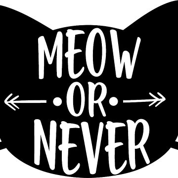 Meow or Never by Lunacat83