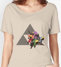 4 Swords Links - Sunset Shores Women's Relaxed Fit T-Shirt