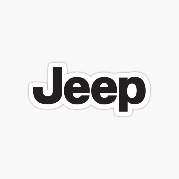 Jeep Classic Logo Sticker