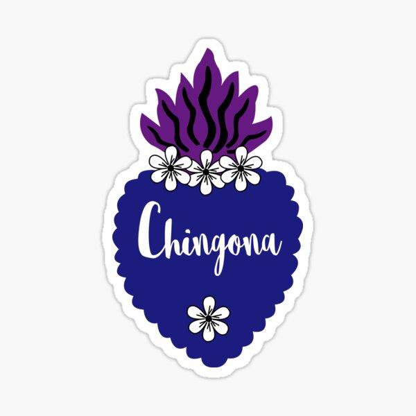 Chingona Heart Sticker