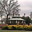 The Gazebo At Dowling Gardens, Woodland Park, NJ, USA by Jane Neill-Hancock