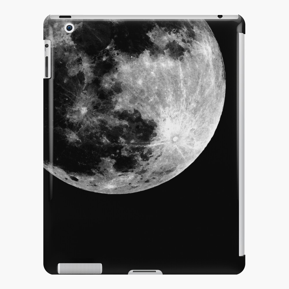 Full Moon iPad Case & Skin